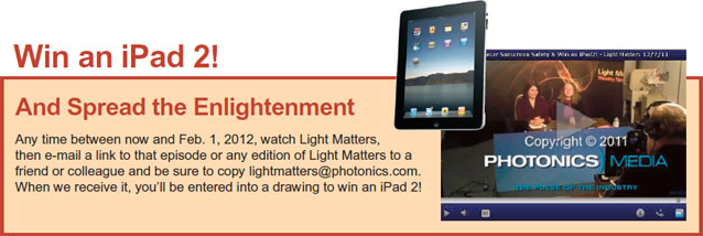 Win an iPad 2