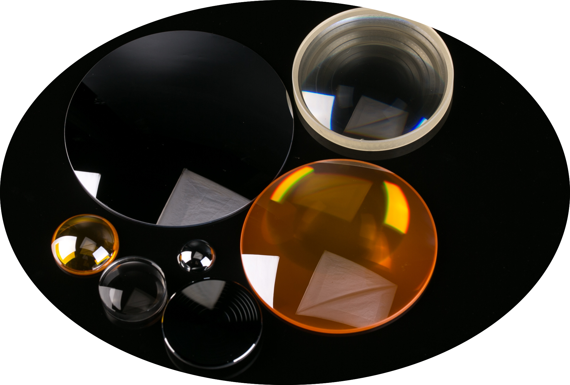 lenses from optics & allied engg
