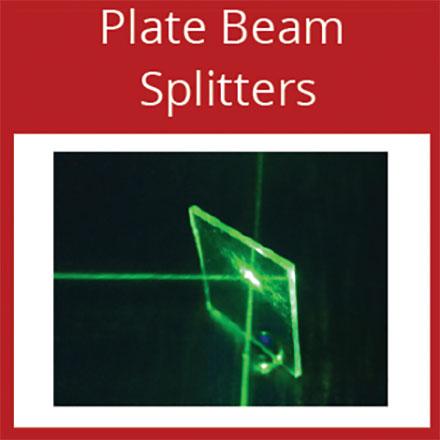 Optometrics Plate Beam Splitters