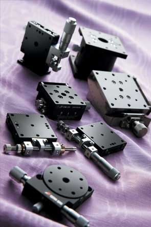 manual stages and actuators from optosigma