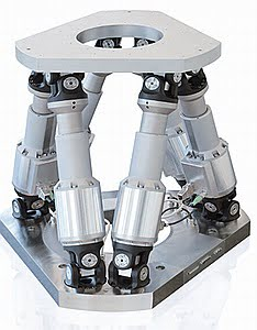 hexapod 6-axis positioners from PI Physik Instruments LP