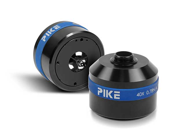 pike technologies 40x microscope objective