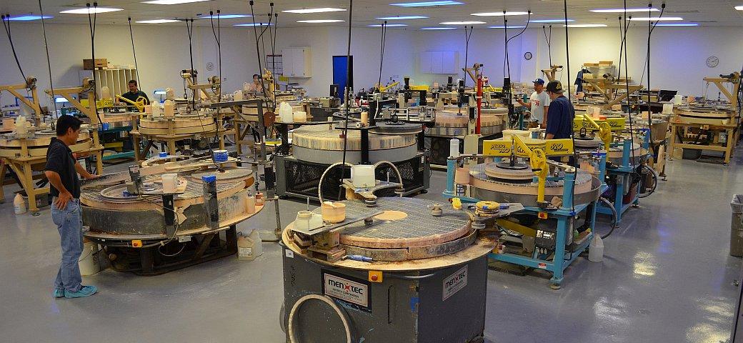 Precision Optical Polishing
