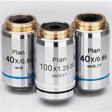 objective lenses from Shanghai Optics