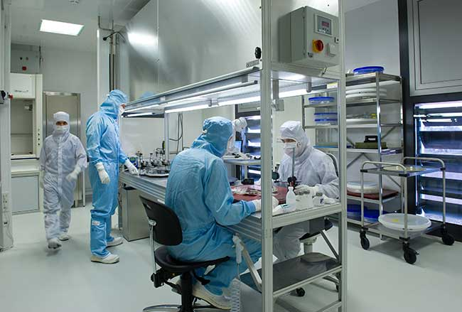 Berliner Glas Clean Room