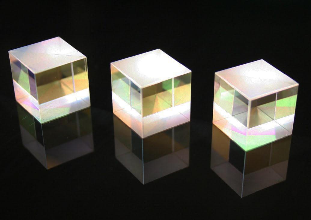 beamsplitters by Perkins Precision Developments