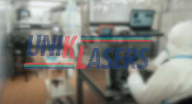 the lab of UnikLasers