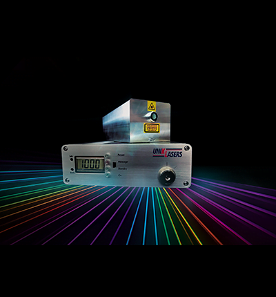 laser and laser light on black from uniklasers