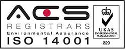 Knight Optical ISO 14001 Registration
