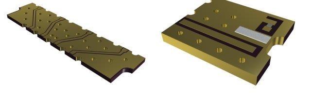ceramic submounts and heatsinks