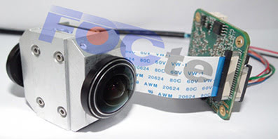 FocTek dual fisheye lens module