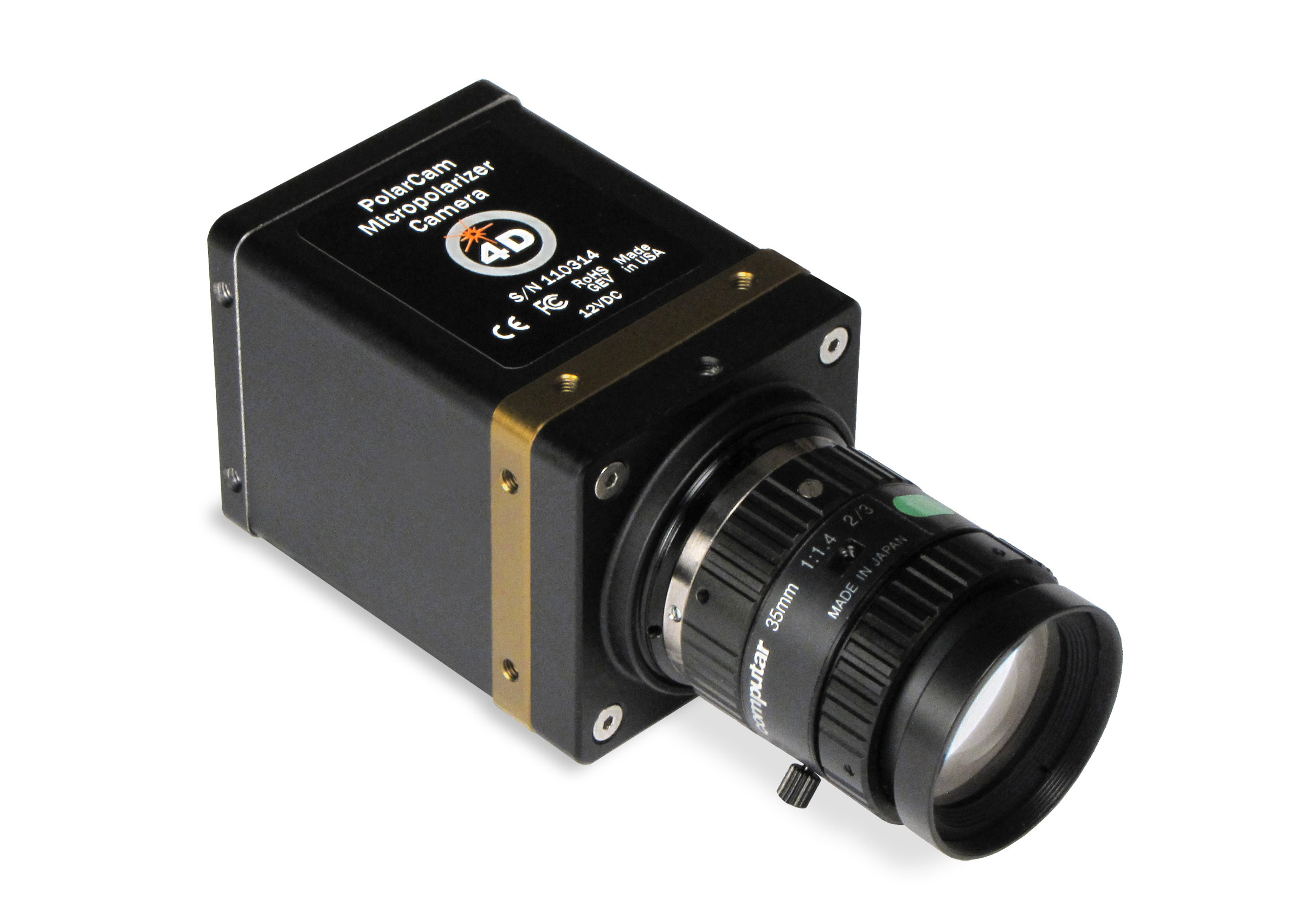 4D PolarCam Polarization Camera