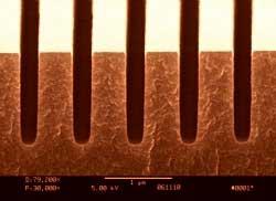 Holographix Orange Tinted Transmission Grating