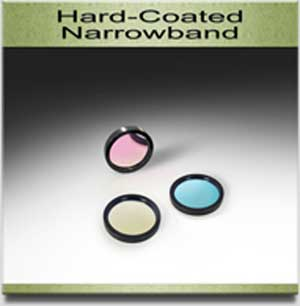 hard coated narrow band from andover corporation