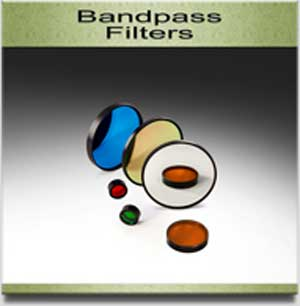 bandpass filters from andover corporation