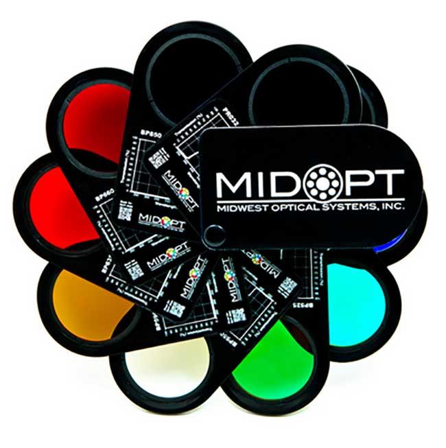 midtopt machine vision swatch filter kit
