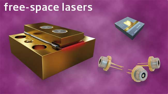 modulight free space lasers