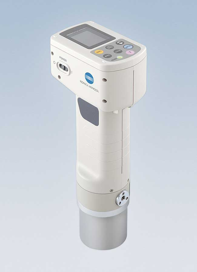 Portable colorimeters allow measurement at production sites or remote locations.