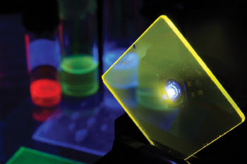 Led Pumped Polymer Laser Emits At 568 Nm Tech Pulse