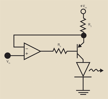 An example of an accurate and stable circuit