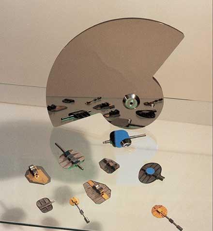 Beryllium mirrors.