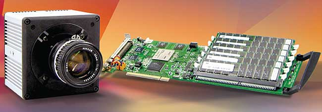 Photron's PCI-1024, a PC-based, megapixel, high-speed imager.