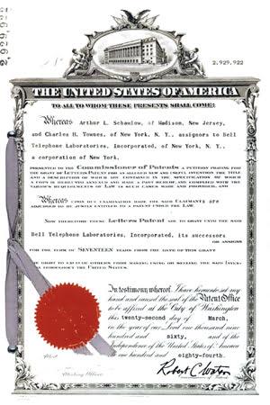 US_Patent_Number2,929,922