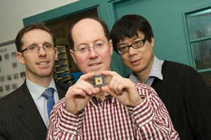 Left To Right: Dr. Jim Bonar, Chief Executive Of MLED Ltd.; Professor  Martin Dawson, Director Of Research Of The Institute Of Photonics At The  University Of ...