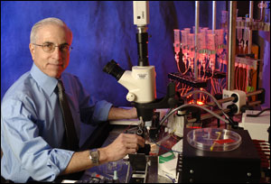 Dr. David Pepperberg, professor of ophthalmology and visual sciences, UIC.