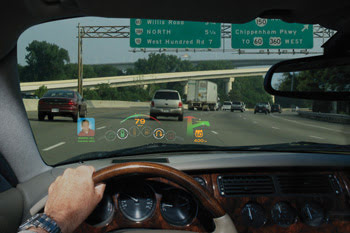 Head-Up Displays Keep Speed and More in Sight   Features ...