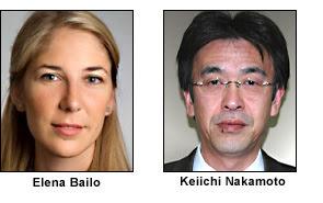 Elena Bailo and Keiichi Nakamoto