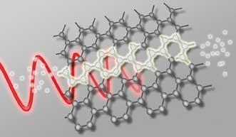2-D sheet carbon atoms