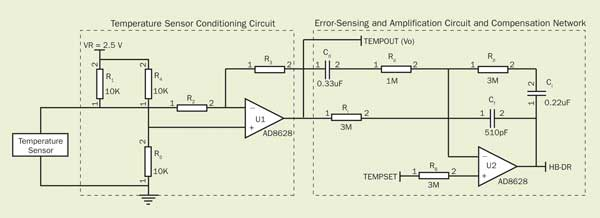 Cooler_Figure4 thermoelectric cooler controller design made simpler features Honeywell Thermostat Wiring Diagram at bayanpartner.co