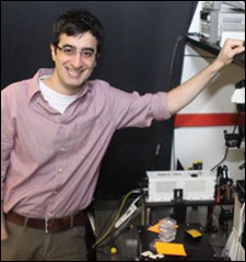 Rashid Zia, a Brown University assistant professor of engineering.