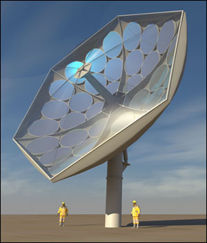 Rendering by Airlight Energy of the prototype HCPVT system under development by an international collaboration of researchers.