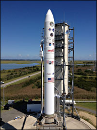 LADEE is scheduled for launch at 11:27 p.m. EDT on Sept. 6 from Pad 0B at the Mid-Atlantic Regional Spaceport at NASA's Wallops Flight Facility in Wallops Island, Va.