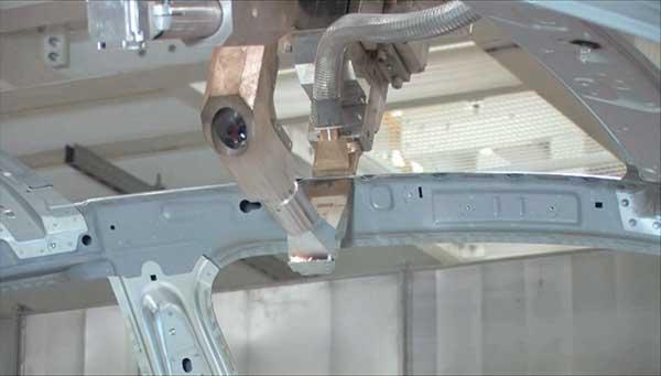 Resistance Spot Welding Gun Meets Fiber Laser Features