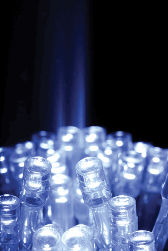 Blue LEDs enable production of white light