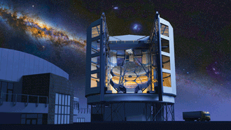 The Giant Magellan Telescope in Chile