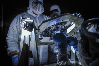 NASA's James Webb Space Telescope optical team