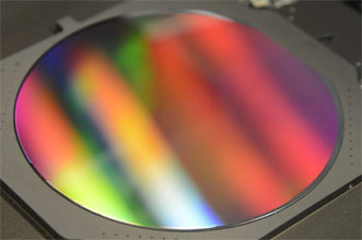 6-in. nanoimprinted wafer