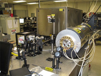 The ultrafast-pulsing laser, along with T-rays, allows detection of toxic gases from as far away as 1 km.