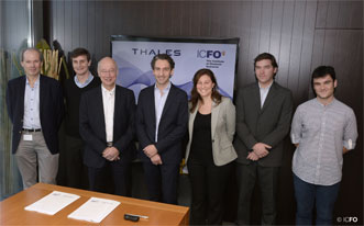 Representatives of Thales and IFCO.