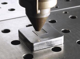 laser deposition welding