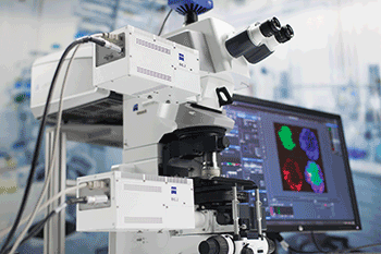 The Zeiss LSM 880 confocal microscope