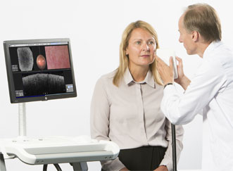 The VivoSight OCT medical scanner