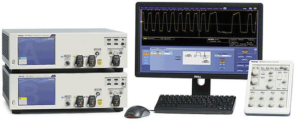 Some oscilloscopes, such as this one, provide signal acquisition up to 70-GHz bandwidth.