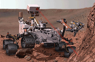 Precise positioning enables instruments on the Curiosity Mars rover to produce valuable science.
