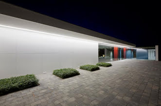 High-efficiency LED architectural lighting. Courtesy of Paula Beetlestone/Plessey.