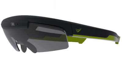 Smart glasses intended for cyclists and other athletes will be introduced next year.